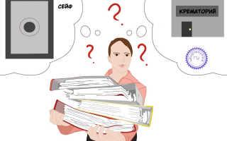 Что делать с документами после ликвидации ООО