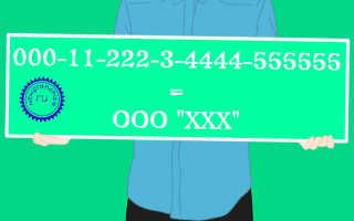 Правила присвоения и значение номера расчетному счету ООО