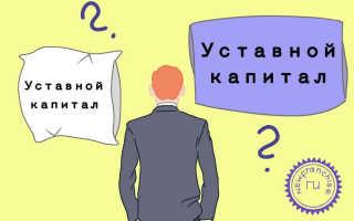 Бухгалтерский учет уставного капитала в организации