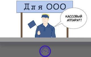Использование кассовых аппаратов ООО на ЕНВД
